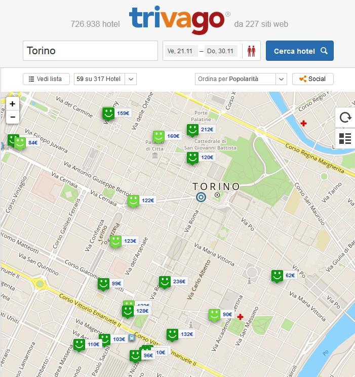 mappatrivago